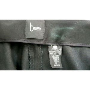 bebe Pants - New Be Women Pants Black Straight Embellished